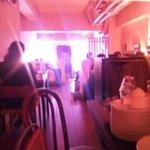 ダブリンルームカフェ - 奥から見た店内