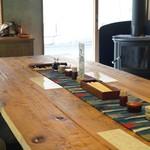 守破離 - 大きなテーブル席