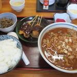 角忠 - 料理写真:みそきし定食700円