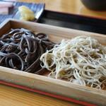 あさ沼 - 合い盛り蕎麦