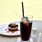 カフェ ダール - アイスコーヒー¥550