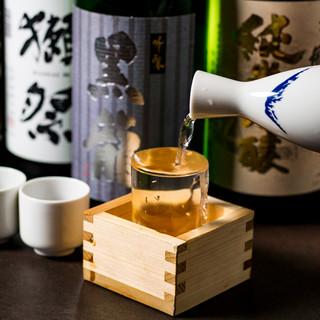 日本酒・焼酎等…日本の誇る銘酒を海鮮料理と共にご堪能下さい。