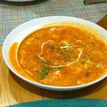 84979205 - ソパ デ アホ(ニンニクのスープ)750円 初めて食べる不思議な味です