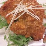 グットスピリッツ ユナイト - ランチの冷やしカレー¥700☆トマトの酸味や和風のスパイスが効いててうまい!