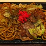 MOGAMI. - 京都から仕入れている焼きそばの麺はもっちり,ソースは濃厚。ヤバイ旨さ!