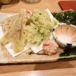 たわし - 旬野菜の天婦羅
