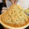 多聞 - 料理写真:深大寺蕎麦620円+大盛り350円