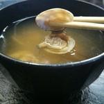 名阪上野ドライブイン おすみ - 貝汁