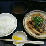 名阪上野ドライブイン おすみ - 定食のセット