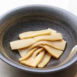 神戸製麺 - メンマ