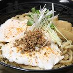 神戸製麺 - 自家製鶏ダレ油そば(特盛)