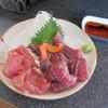 蕎麦切り屋 - 料理写真:「生本まぐろホホ肉刺」