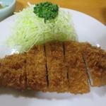 84983259 - ロース定食(1,350円)