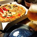 PIZZA SALVATORE CUOMO - ビールと一緒に♡