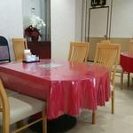 ダイニング 華 - テーブル席