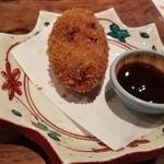 肉の炭火焼と土鍋ごはん だんらん居酒家HANA - 肉屋のコロッケ