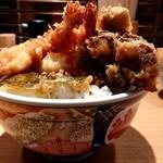 日本橋 天丼 金子半之助 - 梅、天丼