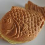 たい焼き 二万翁 - たい焼き(カスタード)