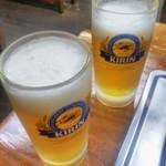 84995392 - 生ビールで乾杯♪