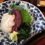84995551 - ランチ丼1400円(税込)のお刺身