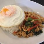 アジアンカフェ ドークブア - 料理写真:ガパオライス