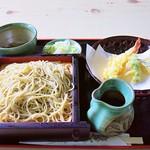 大師茶屋 - 天もり1100円