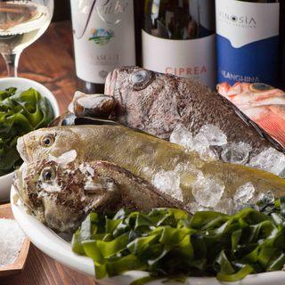 岩手産熟成魚など厳選食材を使用したこだわりイタリアン