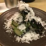 和洋酒菜 ひで - アスパラガス焼き