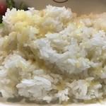 欧風カレー ボンディ 神保町本店 - ご飯にはチーズが