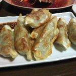 韓国風居酒屋 唐辛子 - 焼き餃子