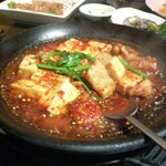 85686 - 辛ホルモン豆腐鍋