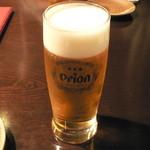 空 - オリオン生ビール