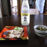 8500155 - 立山の純米生貯、中るの高菜、そしてトライアングルパゥワー