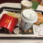 マクドナルド - 料理写真:チキンチーズバーガーセット