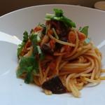 Ristorante KISAKU - 桜海老と茸のトマトソース