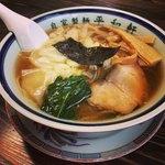 平和軒 - ワンタン麺 600円