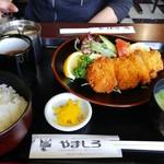 レストラン やましろ - 豚カツ定食920円(税込)