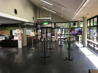 桔梗屋 本社 - カフェスペース