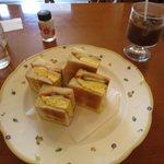 ジャマイカ - 料理写真:ミックストーストサンド¥520