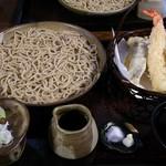 白州手打ち蕎麦 くぼ田 - 料理写真:天もり(自分)