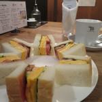 ナス・ショウゾウ カフェ - サンドウィッチセット
