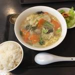 福わらい - 春キャベツ入り五目タンタン麺 byたにP