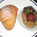 ラトリエ モトゾー - スフォリアテッラ/イチゴと抹茶