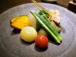 接方来 京都駅ビル店 - 京野菜の豆乳チーズフォンデュ