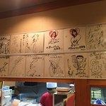 世界の山ちゃん - 有名なお店でサインもいっぱいありました。