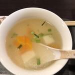 バイケーオ - ランチセットのスープ