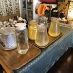 バイケーオ - 飲み放題のドリンク4種類