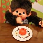 プラススクレート - モンチッチちゃんのりんごムースケーキ_店長も大満足!