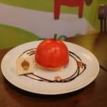 プラススクレート - モンチッチちゃんのりんごムースケーキ