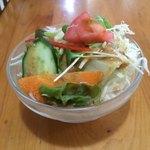インドネパール料理 ミヤギディ - セットのサラダ